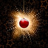 Abstract christmas baubles