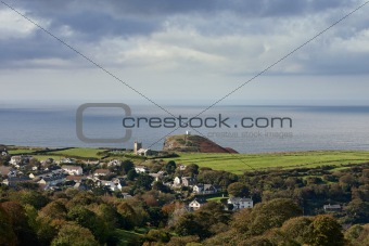 A small village in Cornwall