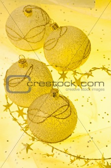Christmas ball baubles