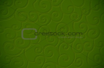 Green textured surface