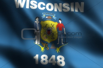 Image of Wisconsin State Flag (XXL)