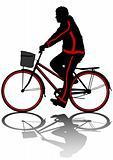 Cyclist man