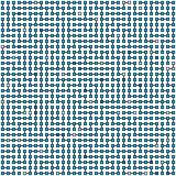 Vector ornament - the technological maze