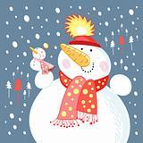 funny snowmen