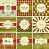 Christmas vintage backgrounds.