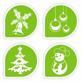 Collect Christmas Sticker