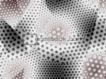 Abstract geometric techno background