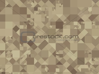 Abstract dynamic squares background