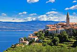 Adriatic Town of Vrbnik , Island of Krk