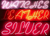 Neon Light Sign Advertisement