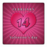 February 14. Valentine&#39;s day