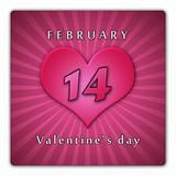 February 14. Valentine's day