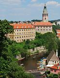 Historical Center of Cesky Krumlov, Czech Republic