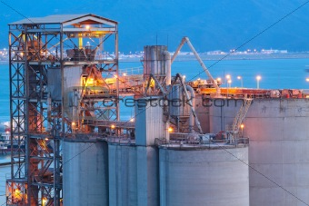 Cement Plant close up