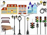 City street details