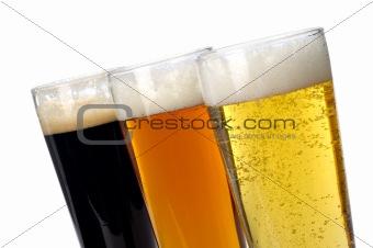 Three varities of beer