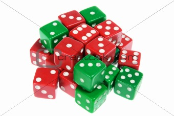 Green and Red Dice