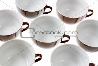 Close Up of Cups