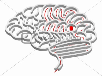 Brain maze concept