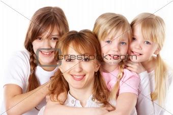 Happy females