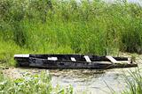 Old sunken boat