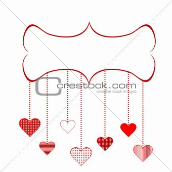Frame for Valentine's Day