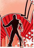 Flag Bearer Poster