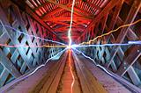 Light Beams in a Tunnel