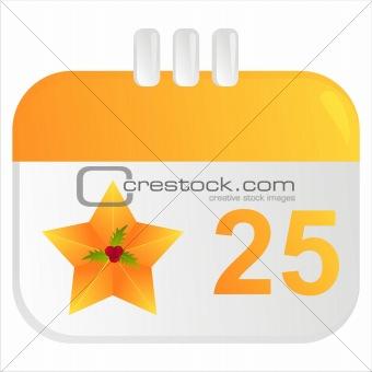 christmas calendar icon