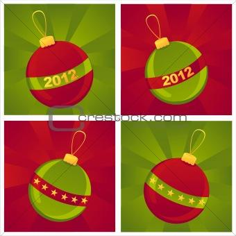 christmas balls backgrounds