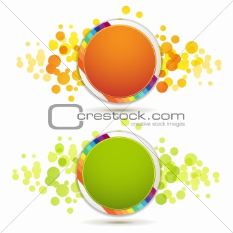Circle backgrounds