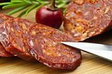 Chorizo sausage of Spain