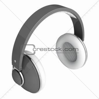 Gray headphones