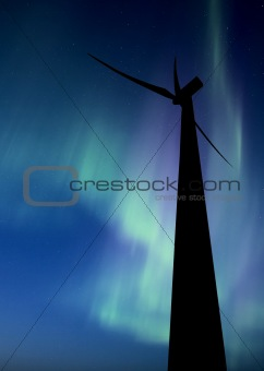 Wind farm south of Gull Lake Saskatchewan