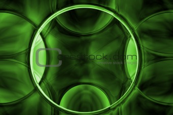 abstract alien green crystal texture