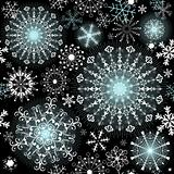 Christmas dark repeating pattern
