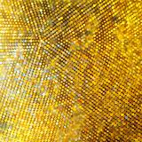 Golden mosaic. Abstract background. EPS 8