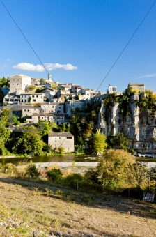 Balazuc, Rhone-Alpes, France