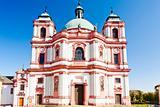 basilica in Jablonne v Podjestedi, Czech Republic