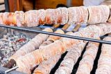 special Czech pastry called trdelnik