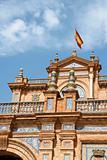 Palacio Espanol, Plaza de Espana in Seville