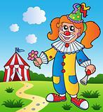 Clown theme picture 3