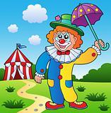 Clown theme picture 4