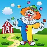 Clown theme picture 7