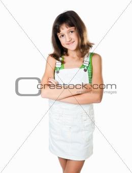 little fashion model