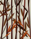Autumn background willow