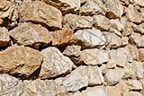 Jammu Kashmir India Dry stone walling