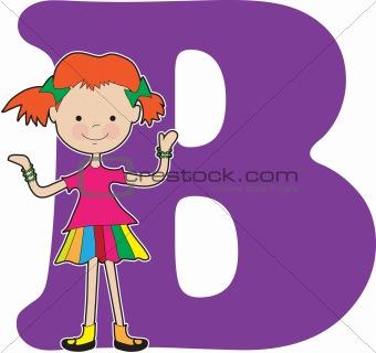 Alphabet Girl B