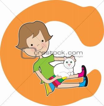 Alphabet Girl C