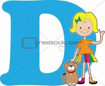 Alphabet Girl D